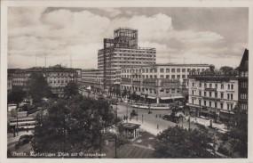 Berlin - Askanischer Platz mit Europahaus 1937