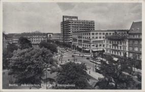 Berlin - Askanischer Platz und Europahaus 1938