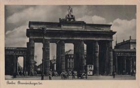 Berlin - Brandenburger Tor 1938