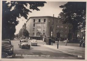Berlin - Kurfürstendamm-Uhlandstraße 1954