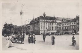Berlin - Unter den Linden mit Hotel Adlon 1912