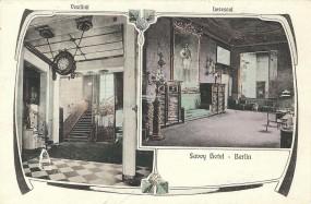 Berlin - Savoy Hotel, Vestibül, Lesesaal