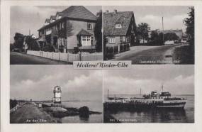 Hollern - Nieder-Elbe - An der Elbe - bei Twielefleth - Gaststätte Hollerner-Hof 1960