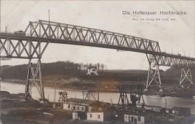 Die Holtenauer Hochbrücke