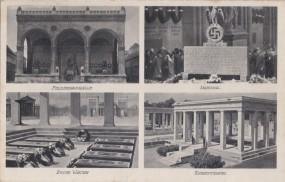 München - Feldherrnhalle - Mahnmal - Ewige Wache - Ehrentempel