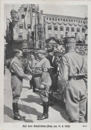 Auf dem Adolf-Hitler-Platz am 11.9.1938 - Reichsparteitag Nürnberg