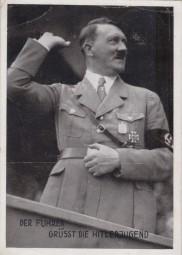 NSDAP - Reichsparteitag - Der Führer grüsst die Hitlerjugend 1933