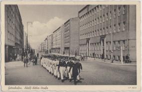 Gotenhafen - Adolf-Hitler-Straße 1940