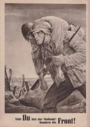 Nach einem Gemälde von Will Tschech - 1943