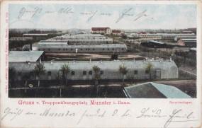 Truppenübungsplatz Munster i. Hann - Barackenlager 1904