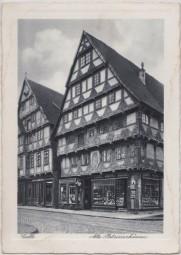 Celle - Alte Patrizierhäuser 1939