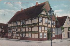 Springe - Haus Peters (erbaut 1616) 1914