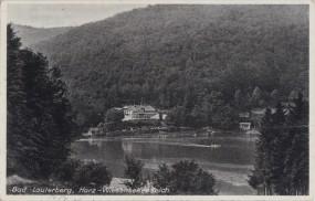 Bad Lauterberg - Harz-Wiesenbeker Teich 1941