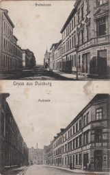 Duisburg - Breitestrasse - Austrasse 1914