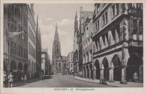Münster i. W. - Prinzipalmarkt 1932