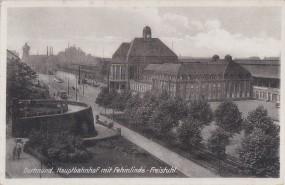 Dortmund - Hauptbahnhof mit Fehmlinde-Freistuhl