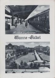 Wanne-Eickel - Anlagen am Bahnhof