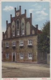 Lübbecke i. Westf. - Rathaus 1935
