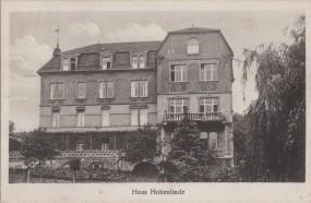 Stadt Duisburg - Kindererholungsheim - Haus Hohenlinde bei Remagen 1926