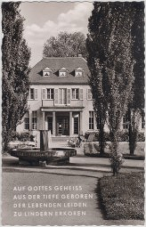 Bad Niederbreisig am Rhein - Badehaus 1955