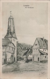 Laasphe - Am Kirchplatz 1935