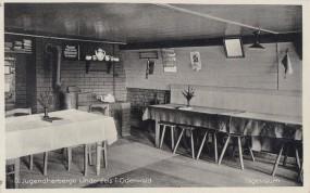 Lindenfels i. Odenwald - D. Jugendherberge - Tagesraum