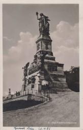 Das Nationaldenkmal auf dem Niederwald 1933