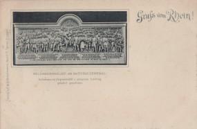 Rhein - Feldherrnrelief am Nationaldenkmal