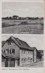 Burggräfenrode - Kreis Friedberg - Gesamtansicht - Metzgerei u. Wirtschaft Wilhelm Barth