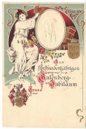 Fünfhundertjähriger Gutenberg-Jubiläum