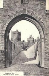 Bingen a. Rh. - Eingang zur Burg Klopp