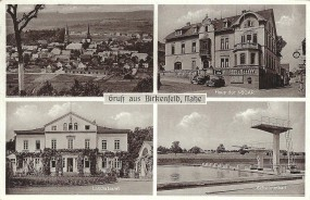 Birkenfeld - Schwimmbad, Haus der NSDAP, Landratsamt