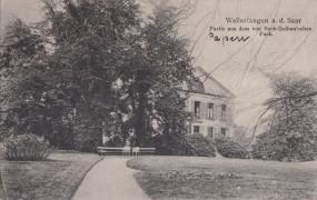 Wallerfangen a. d. Saar - Partie aus dem von Boch-Galhau'schen Park