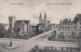 Landau (Pfalz) - Partie aus dem südl. Stadtteil