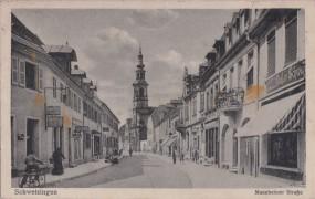 Schwetzingen - Mannheimer Straße 1917
