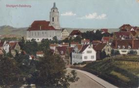 Stuttgart-Gaisburg, Kirche, 1916