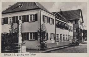 Schnait im Remstal, Gasthof zum Ochsen, 1944