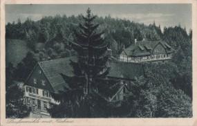 Wieslauftal bei Welzheim, Laufenmühle mit Kurhaus, Gasthaus zur Laufenmühle, 1930