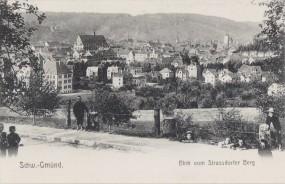 Schwäbisch Gmünd, Blick vom Strassdorfer Berg