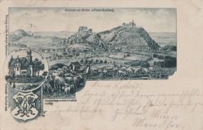Hohen-Rechberg, Aussicht vom Stuifen, Kirche, 1899