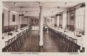 Genesungsheim Lorch im Württemberg, Speisesaal, 1931