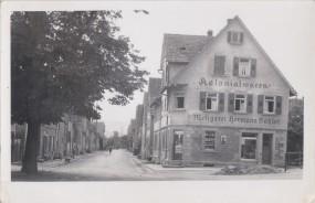 Nordheim - Kreis Heilbronn, Kolonialwaren Metzgerei Hermann Böhler