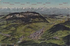 Spaichingen - Dreifaltigkeitsberg - Alpenpanorama 1917