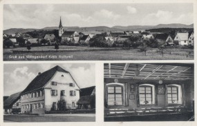 Villingendorf Kreis Rottweil - Gasthaus z. Kreuz