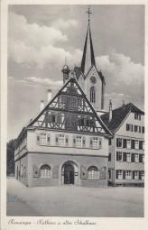 Renningen - Rathaus und altes Schulhaus