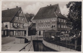 Altensteig - Württbg. Schwarzwald - Pension Traube 1939