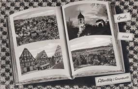 Altensteig im Schwarzwald 1961