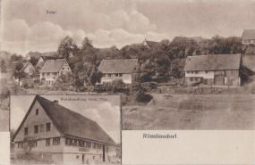 Römlinsdorf - Total - Weinhandlung Gebr. Pfau 1921