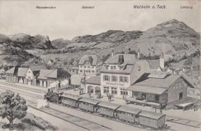 Weilheim a. Teck - Limburg - Bahnhof - Reussenstein