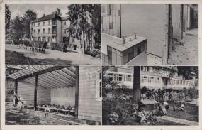 Solbad Bad Imnau - Hohenzollern - Kindererholungsheim 1961